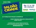A ação Saldão da Cidade é uma parceria entre a Boa Vista SCPC e algumas Associações Comerciais no interior de SP